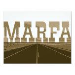 Marfa Texas Custom Announcements