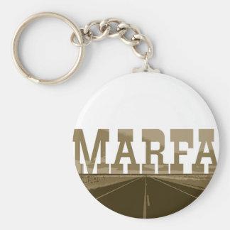 Marfa Texas Keychain