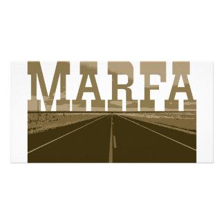 Marfa Texas Personalized Photo Card