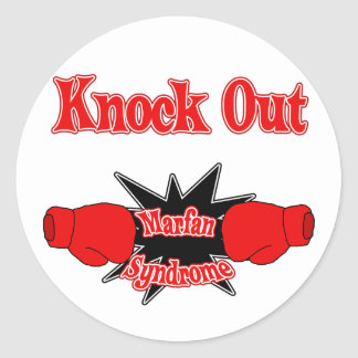 Marfan Syndrome Classic Round Sticker
