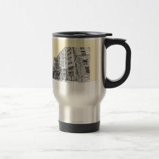 Marfil de la crema del hotel de Thayer Tazas De Café