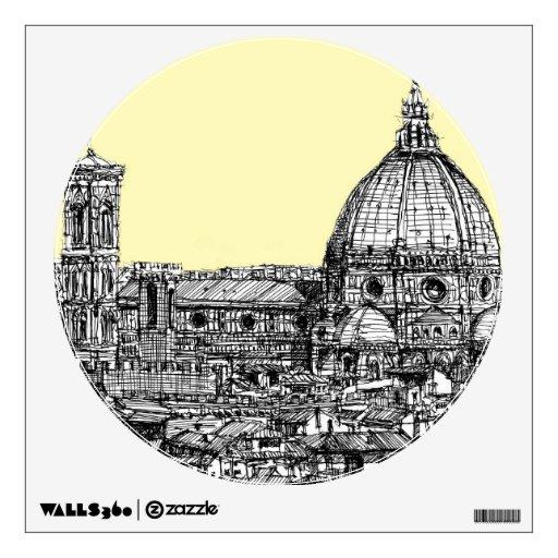 Marfil poner crema de Firenze del Duomo