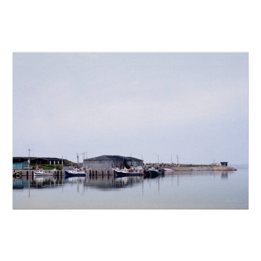 Margaree Harbour, Nova Scotia Poster