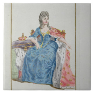 Margaret (1353-1412) Queen of Denmark, Norway and Tile