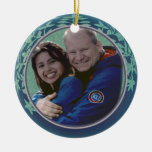 Margaret and Derick orn Christmas Tree Ornament