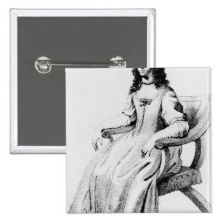 Margaret Cavendish, Duchess of Newcastle Button