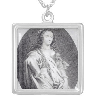 Margaret Cavendish, Duchess of Newcastle Square Pendant Necklace