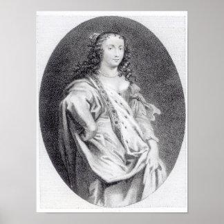 Margaret Cavendish, duquesa de Newcastle Poster