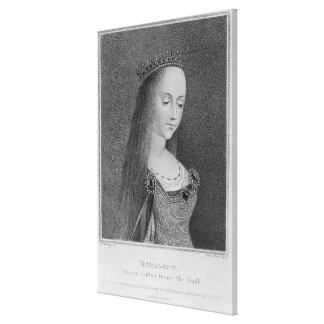 Margaret de Anjou Impresiones En Lienzo Estiradas