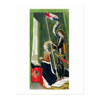 Margaret de Dinamarca, reina (de los 1456-86) afte Tarjetas Postales