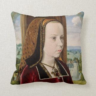 Margaret de la almohada de Austria Cojín Decorativo
