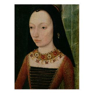 Margaret de la duquesa de York de Borgoña, c.1477 Postales