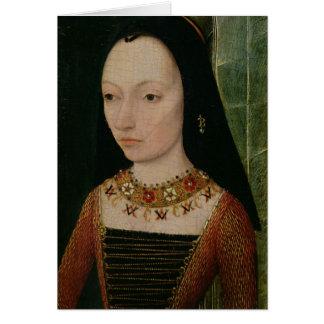 Margaret de la duquesa de York de Borgoña, c.1477 Tarjeta De Felicitación