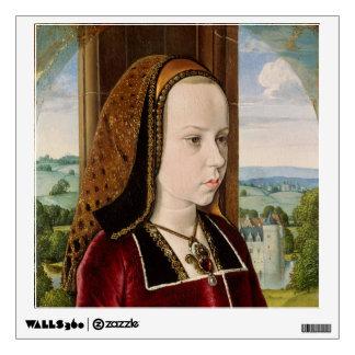 Margaret de la etiqueta de la pared de Austria Vinilo Adhesivo