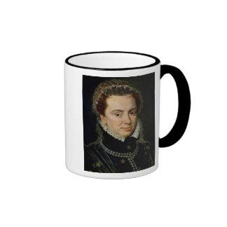 Margaret de Parma, regente de los Países Bajos Taza A Dos Colores