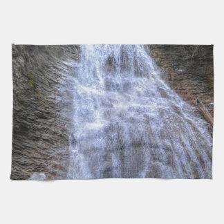 Margaret Falls, BC I Photo Print Hand Towels