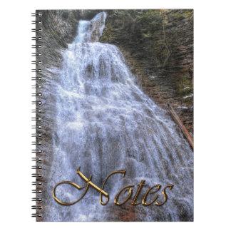 Margaret Falls, BC I Photo Print Notebook