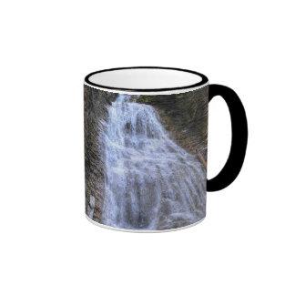 Margaret Falls, BC I Photo Print Ringer Mug