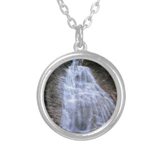 Margaret Falls, BC I Photo Print Silver Plated Necklace