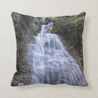 Margaret Falls, BC I Photo Print Throw Pillow