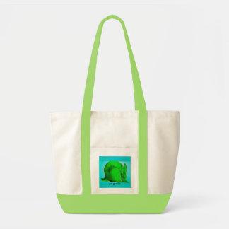 margaret frasers art 003, go green impulse tote bag