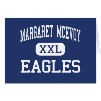 Margaret McEvoy Eagles Middle Macon Georgia Greeting Cards