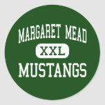 Margaret Mead - Mustangs - Elk Grove Village Sticker