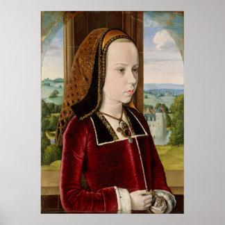 Margaret of Austria Poster