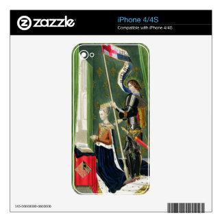 Margaret of Denmark, Queen of Scots (1456-86) afte iPhone 4 Decals