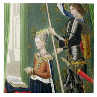 Margaret of Denmark, Queen of Scots (1456-86) afte Tile