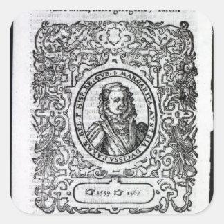 Margaret of Parma, Governor of the Netherlands Sticker
