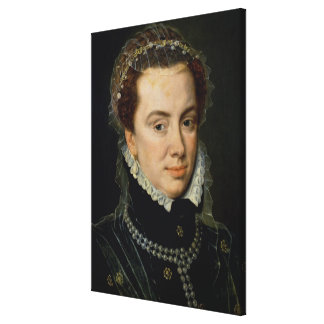 Margaret of Parma , Regent of the Netherlands Canvas Print