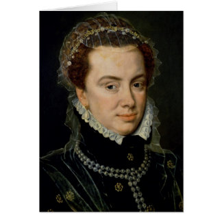 Margaret of Parma , Regent of the Netherlands Greeting Card