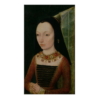 Margaret of York  Duchess of Burgundy, c.1477 Poster