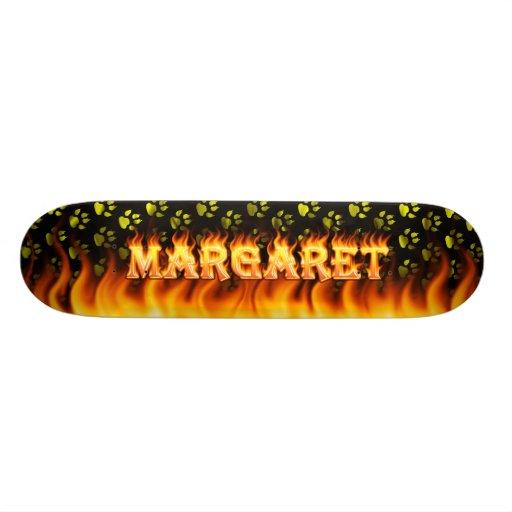 Margaret real fire Skatersollie skateboard. Skate Boards