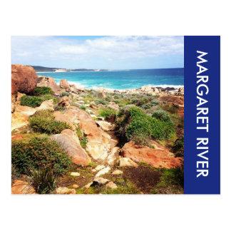 margaret river coastline postcard