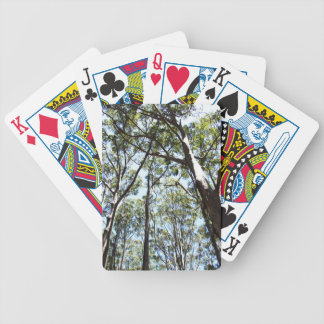 Margaret river Forest Bicycle Playing Cards