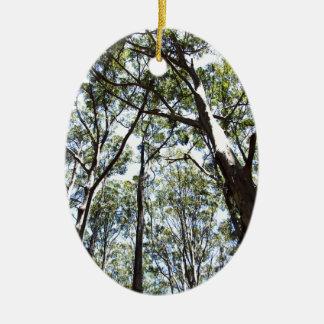 Margaret river Forest Ceramic Ornament
