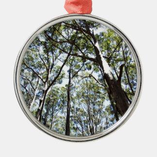 Margaret river Forest Metal Ornament