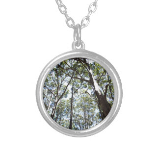 Margaret river Forest Round Pendant Necklace