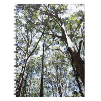 Margaret river Forest Spiral Notebook