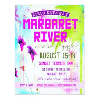 MARGARET RIVER Girls Getaway Custom Announcements