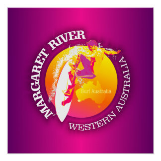 Margaret River Poster