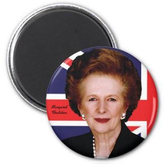 Margaret Thatcher 2 Inch Round Magnet