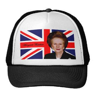 Margaret Thatcher - bandera británica Gorros