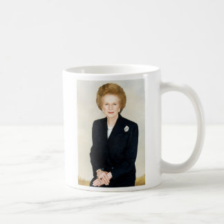 Margaret Thatcher Classic White Coffee Mug