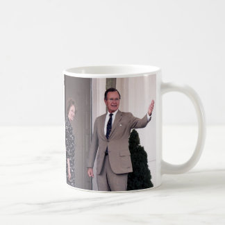 Margaret Thatcher & George Bush Coffee Mug