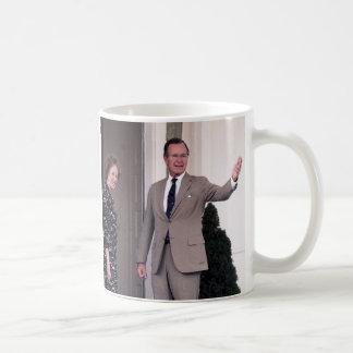 Margaret Thatcher & George Bush Mugs