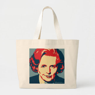Margaret Thatcher - hierro: Bolso de OHP Bolsa Tela Grande