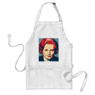 Margaret Thatcher - hierro: Delantal de OHP